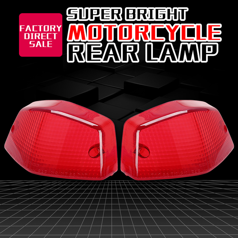 Rear Tail Light Shell Brake Taillight Cover For HONDA Steed400 Steed 400 600 Steed600 Motorcycle Accessories
