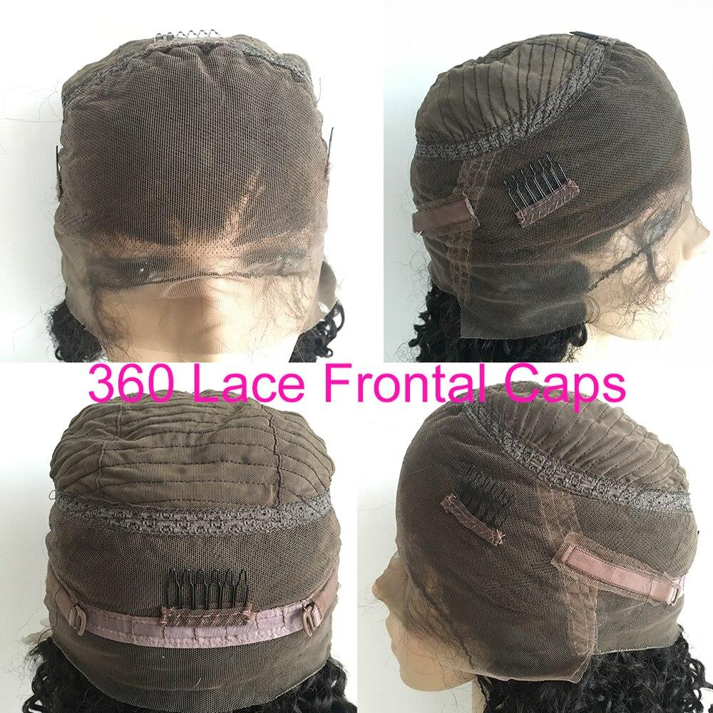 Eversoyeux 1b/33 Ombre perruque 360 dentelle frontale perruques de cheveux humains pour les femmes noires brésilienne vague de corps dentelle avant perruque Remy cheveux queue de cheval - 6