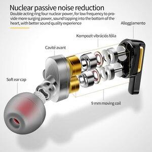 Image 4 - Оригинальные наушники Fonge 3,5 мм X3 с двумя динамическими наушниками в ушах с тяжелыми басами и объемным звуком 360 градусов с микрофоном