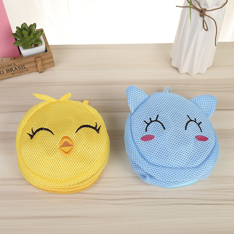 FUNIQUE Cartoon Clothes Washing Machine Laundry Bra Lingerie Cleaning Bag Protecting Laundry Bags&Baskets Wash Pouch Zipper