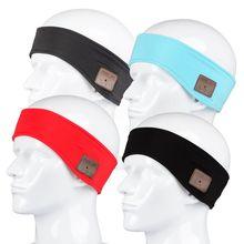 Спортивная повязка на голову Smart Bluetooth оголовье гарнитуры Наушники беспроводной спортивные для iPhone телефона Android