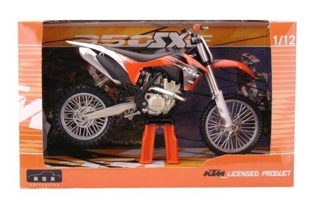 1:12 KTM 350 SXF Dirt Bike Мотоцикл Новый в Коробке