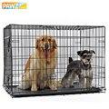 Клетка для домашних питомцев  складная двухдверная клетка для питомцев  легко устанавливается  подходит для домашних животных  5 размеров  д...