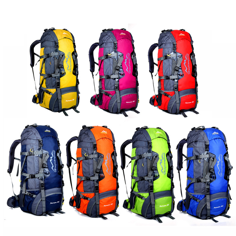 80L Waterproof Durable Climbing Women Backpack Men Hiking Athletic Sport Bags Travel Backpack Outdoor Hiking Backpacks  1