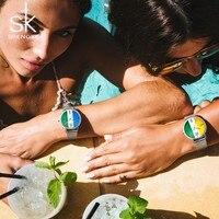 SK Women Wrist Watches Top Brand Luxury Ladies Quartz Clock Female Bracelet Watches Women Fashion Watch