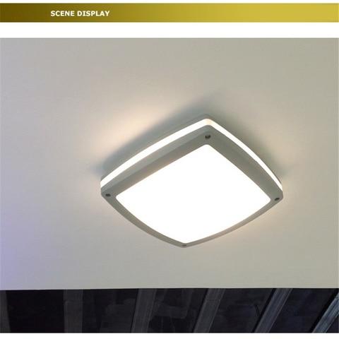 100 240vac a prova d24 agua 24 w led luz de teto