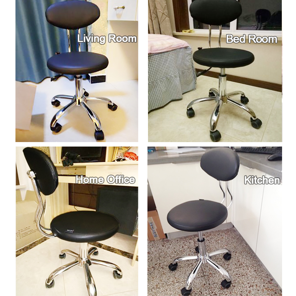 Sensational 2Pcs Pack Small Computer Office Reception Chair Rolling Squirreltailoven Fun Painted Chair Ideas Images Squirreltailovenorg