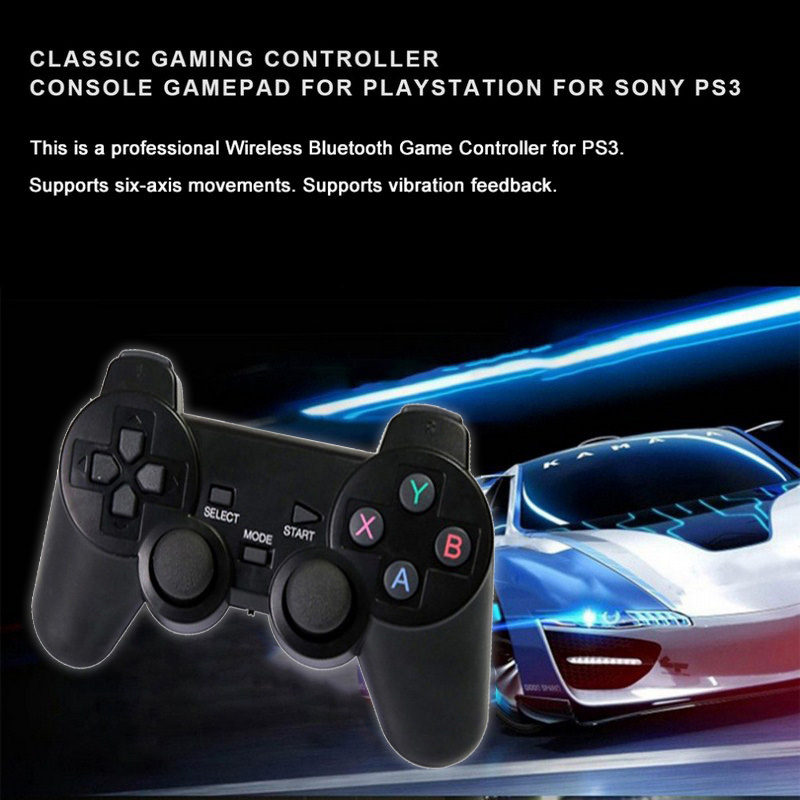 2pcs 2.4G Wireless Gamepad for PS3 Bluetooth Game Remote Controller Game pad Joystick for Sony Playstation 3 Android Phone PC TV