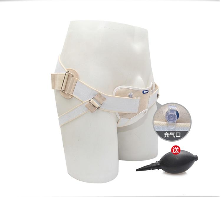 Hernia Belt Pneumatic Compression. Adult Type, Umbilical Inguinal Hernia Belt Bag, Small Intestine, Inflatable Adjust Pressure