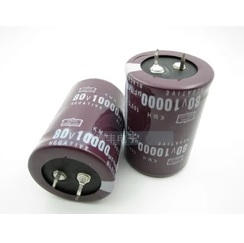 80V 10000UF 10000UF 80V Electrolytic Capacitors volume 35X50