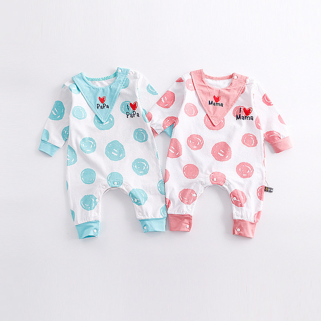 4a8c1f230 Cute Newborn Baby Clothes Kids Suit Boys Clothes Rompers I Love Mama ...