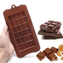 24 Cavity Baking Dish Cake Bakeware Silicone Chocolate Mold Candy Sugar Mould Kitchen Bar Block Ice Tray Cake Tool