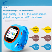 NEW Children Smart Watch With SOS GPS LBS Life Waterproof Kids Waist Watch dial family phone numbers For Android IOS phones