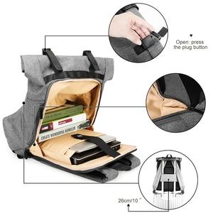 Image 5 - BAGSMART กระเป๋าเป้สะพายหลังกระเป๋าเดินทางอเนกประสงค์ Roll Top แฟชั่น Rucksack เหมาะกับแล็ปท็อปขนาด 15.6 นิ้ว