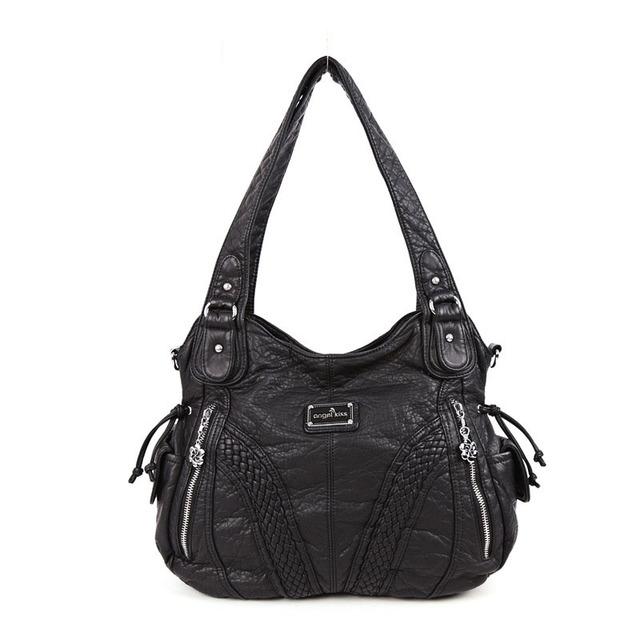 Europe and America PU Lady Handbag