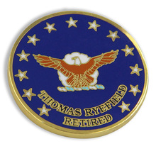 custom National Geospatial-Intelligence Agency hot sales Hard Enamel Challenge Coin