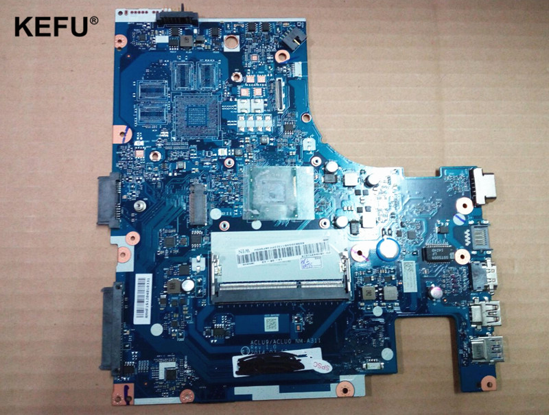 ACLU9/ACLU0 NM-A311 Suitable For Lenovo G40-30 Laptop motherboard With CPU SR1YJ N2840  Fully Tested OK laptop motherboard la 5972p suitable for lenovo g555 notebook motherboard 100% tested ok cpu free