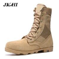 Для мужчин Армейские сапоги дезерты армейские сапоги мужская обувь Высокие ботильоны Botas зимние ботинки Tacticos Zapatos Лидер продаж
