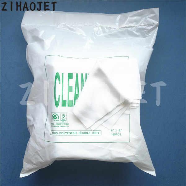 Eco solvent printhead cleanroom wiper untuk Roland Mimaki Mutoh DX4 DX5 DX7 Xuli Xenons Allwin Manusia bersih kain kit 150 pcs