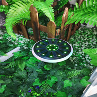 Solar Lamp Pathway Ground Garden Light LED Solar Power Outdoor Buried Lighting Path Lamp for Decking Lawn Yard Outdoor Lighting