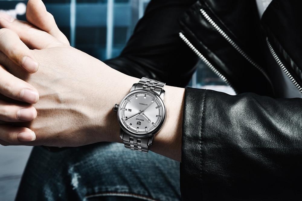 HTB1sPelaW5s3KVjSZFNq6AD3FXaA New BENYAR Men's Mechanical Watches Automatic Mens watches Top Brand Luxury watch men WristWatch Military Relogio Masculino 2019