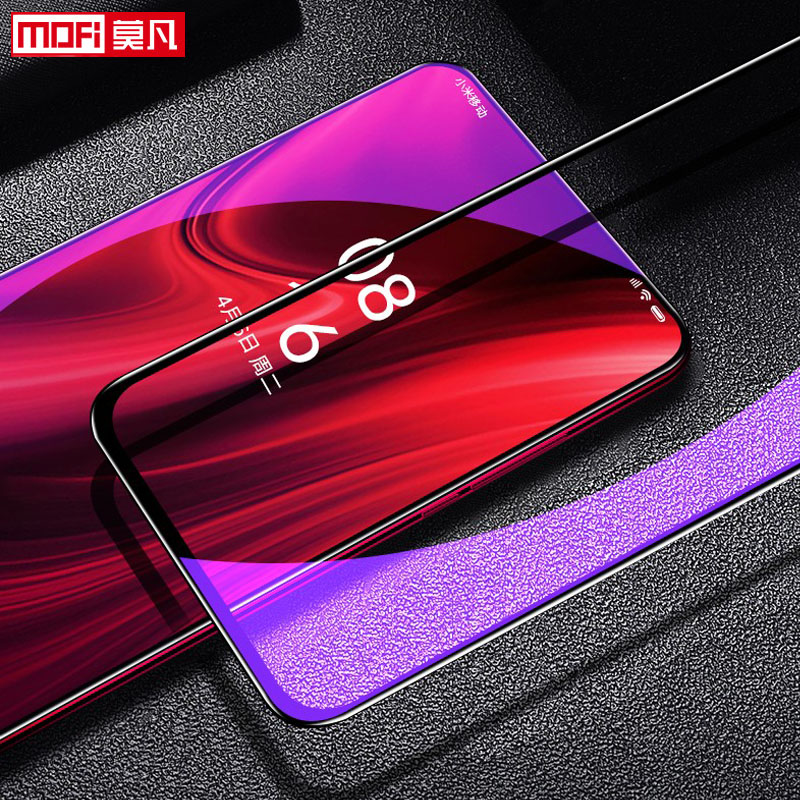 Image 3 - Xiaomi Redmi K20 Tempered Glass Full Cover Mofi Original Ultra Thin Protective Film Xiomi Redmi K20 Pro Screen Protector Glass-in Phone Screen Protectors from Cellphones & Telecommunications