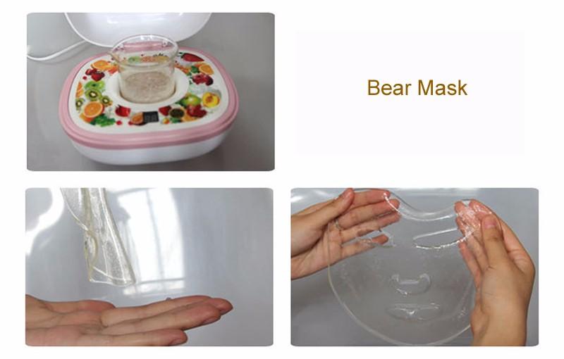 DIY Fruit Facial Mask Machine Maker Vegetable Skin Care Tool Moisturizing Whitening 15