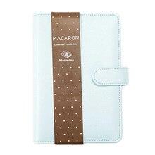 Macaron Spiral Notebook Original Office Personal Diary week Planner agenda Organizer Cute