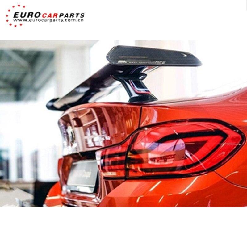 Rear Spoiler M SERIES F87 M2 / F22 M3 F80 M4 F84 2015y~ MP Style Carbon Fiber Rear Wing