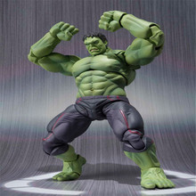 Super Hero The Avengers Movie Hulk Action Figures Juguetes PVC Model Dolls Movable Anime Figure Kids Toys gifts