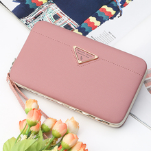 Famous Brand Women Wallets PU Leather Wallets Big Capacity L