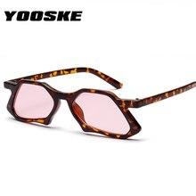 5efbfa116 Poligonal Lrregular YOOSKE 2018 Mulheres Óculos De Sol Olho de Gato Óculos  de Sol Da Moda Retro Marca de Luxo Designer Feminino .
