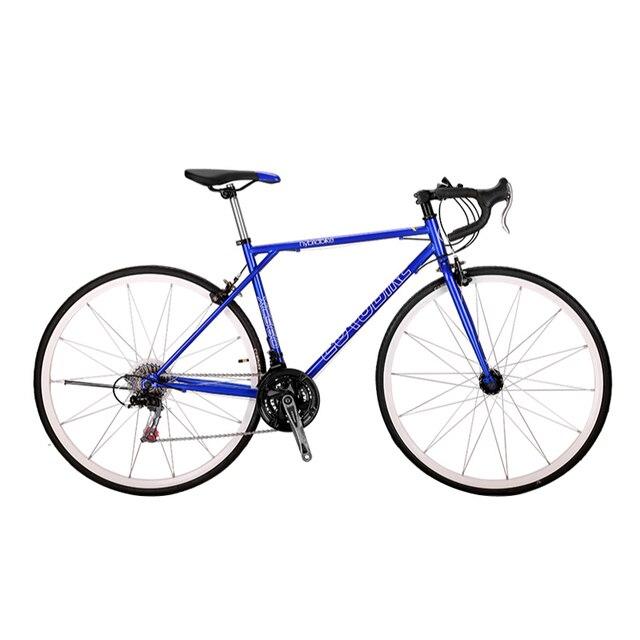 Дорога Велосипедный Спорт 21 Скорость гоночный трек велосипед 700c фиксированной Шестерни Велосипедный Спорт высокоуглеродистой Сталь Рамки 49 см Road Bicicletas Touring велосипед
