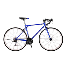 Road Bicycle 21 Speed Racing Track Bike 700C Fixed Gear Bicycle High Carbon Steel Frame 49cm Road Bicicletas Touring Bike