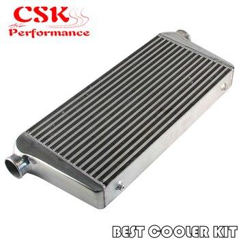 Aluminium Depan Mount Turbo Intercooler 600*300*76 Mm/Outlet: 2.5