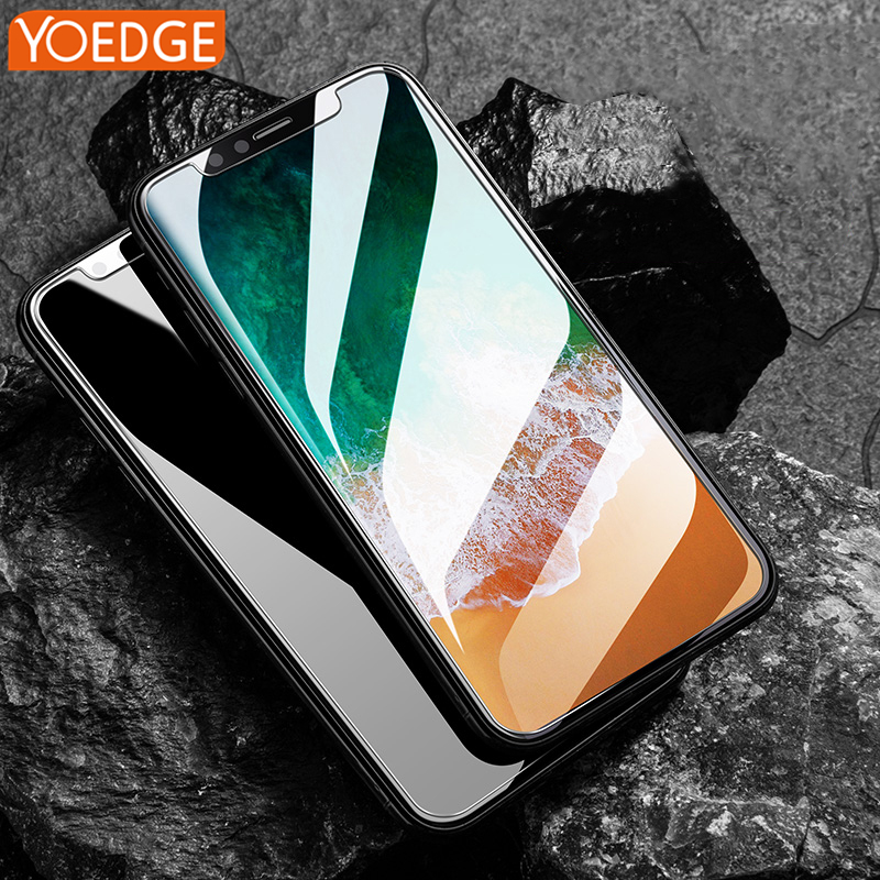Screen Protector For iPhone X 8 4 4S 5 5S 5C SE 6 6S 7 Plus Tempered Glass For iPhone 5S Screen Protector Film case capas para