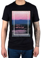 Official The 1975 She S American T Shirt Unisex Music Band IV Vintage Tour FaceD T