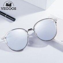 VEGOOS Polarized Round Cat Eye Sunglasses Women TAC Lens Brand Designer Tourism Driving Party Fashion Retro Sun Glasses #6121