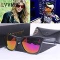 Outdo lvvkee 2017 logotipo original óculos de sol dos homens de design da marca sports óculos de sol para wome uv400 oculos de sol com embalagem