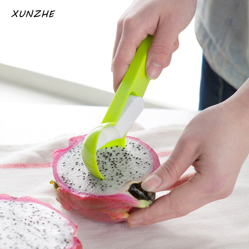 XUNZHE Kitchen tools Ice Cream Spoon Dig Ice Cream Ball Watermelon Meat Digging Fruit Digging Spherical Shape Tools image