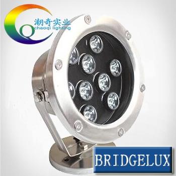 CP 6w 12W 18w 24w 36w IP68 led underwater Light RGB led light light colorful water led pool light led