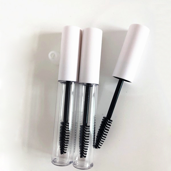 50pcs 100pcs 10ml Empty Mascara Tubes White Silver Gold Black Cap Eyelash Tube Mascara Bottle Cream