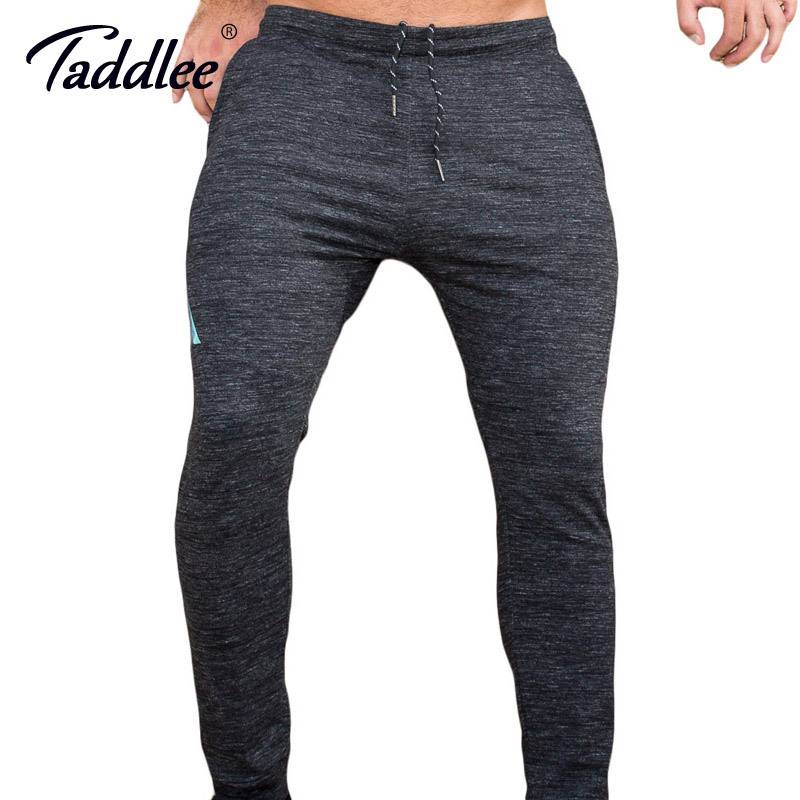 Taddlee Brand Leggings Men Trousers Gym Jogging Skinny Basic Running Sport Pants Man Slim Fit Bottoms SweatPants Pockets Fitness cool 20 inches camouflage boy scooter suitcase men trolley case extrusion students backpack business travel luggage boarding box
