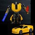 10 cm de Aleación de transformación Robot Figura de Acción de Juguete Del Coche, 1:43 Escala Diecast Metal de Coches Modelo, Iron Man TMNT Brinquedos, Juguetes de los niños