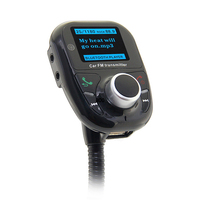 For New Car FM Transmitter MP3 Player Car Wireless FM Transmitter With Audio Radio USB SD