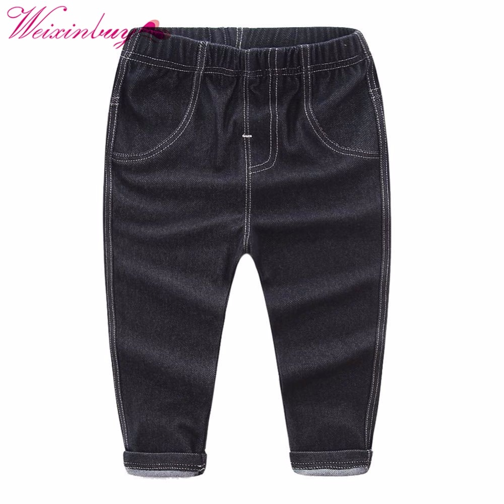Summer Baby Pants Kids Cool Washing Denim Pants Toddler Jeans All Match Pants Children Clothes