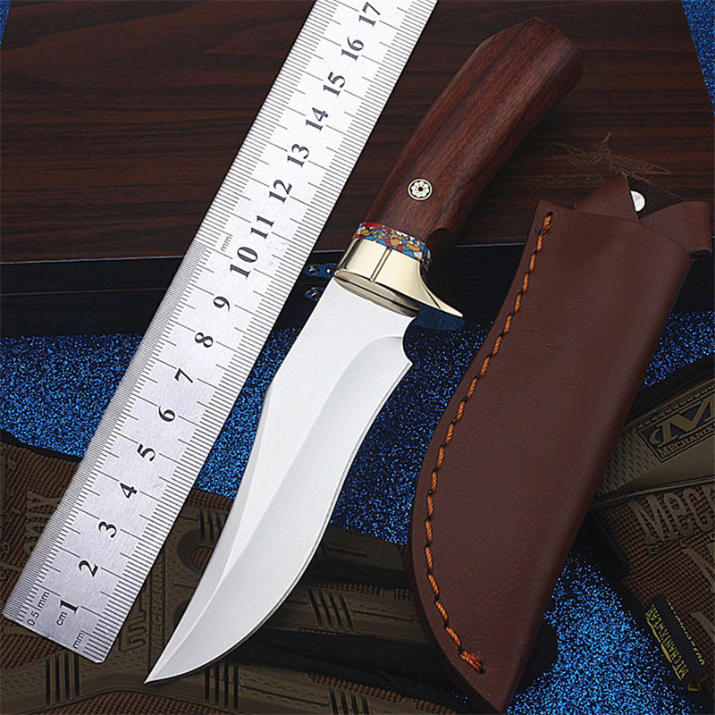2018 New Hot Sale Outdoor Camping Self-defense Fixed Tactical Military Knife Wilderness Survival Gift Collection Hunting Knives2018 New Hot Sale Outdoor Camping Self-defense Fixed Tactical Military Knife Wilderness Survival Gift Collection Hunting Knives