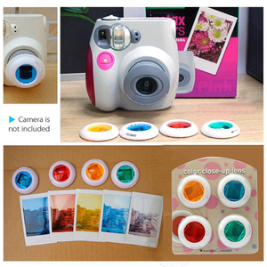 Image 4 - For Fujifilm Instax Mini 9 Mini 8 Instant Camera Painting / Rose Carrying Case Bag Cover PU Leather Pouch + Album + 10 in 1 Kit