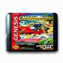 Fora Os Corredores de 16 bits da Sega MD Cartão de Jogo para o Mega Drive para Genesis