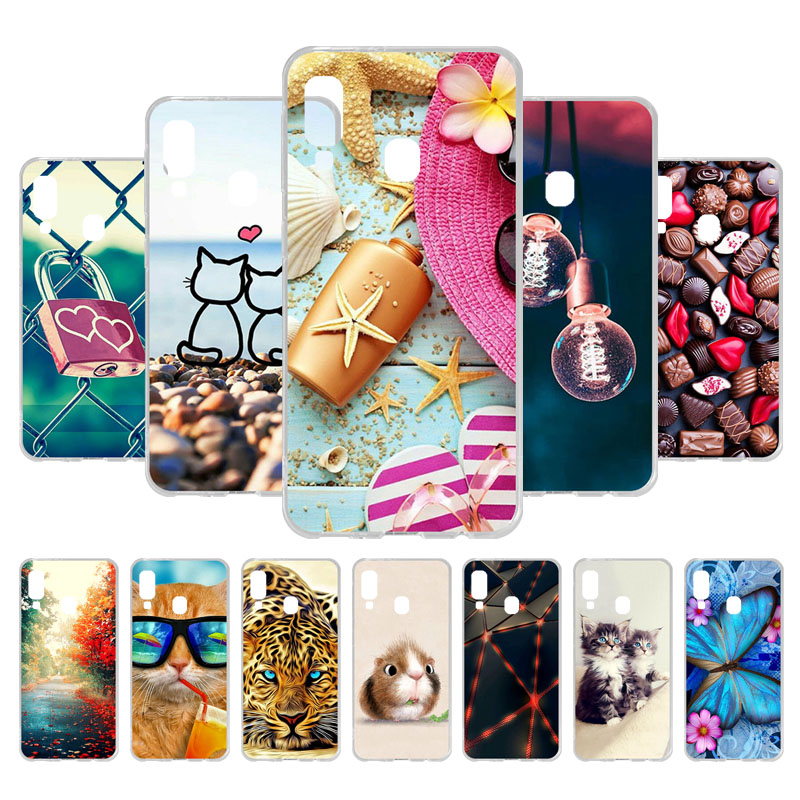 Phone Case For Samsung Galaxy Note 10 Plus Case Samsung A20 A30 A10 A10e A20e Note10 Cases Silicone Soft TPU Protective Bumper